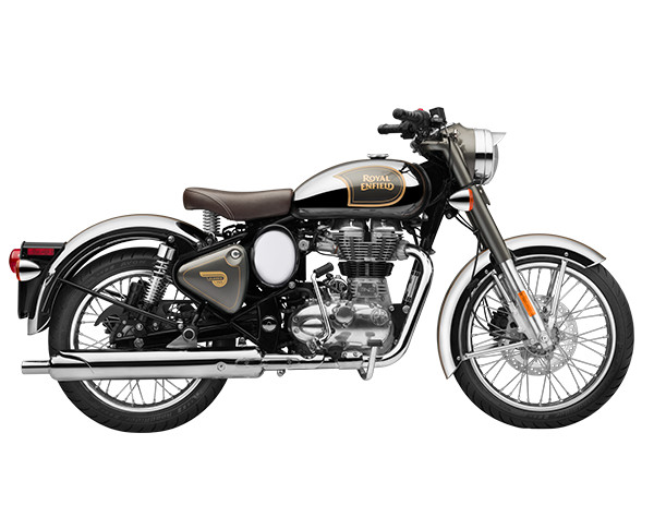 ROYAL ENFIELD CLASSIC 500 Chrome Grey
